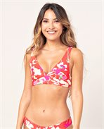 Sugar Bloom Halter Revo Bikini Top