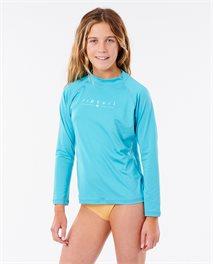 T-shirt Girls Golden Rays Long Sleeve
