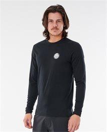 T-shirt anti UV manches longues Wettie Logo