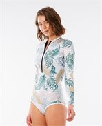 G Bomb Long Sleeve Springsuit Hi Cut