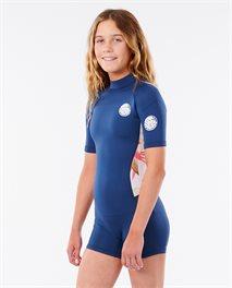 Combinaison Junior Girl Dawn Patrol Short Sleeve manches courtes
