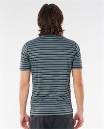 T-shirt anti UV manches courtes Mind Wave Stripe