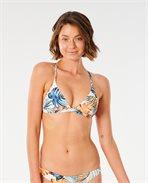 Sayulita Cross Back Triangle  Bikini Top