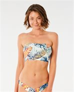 Sayulita Longline  Bandeau Bikini Top