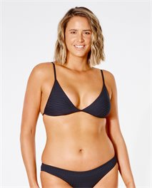 Premium Surf Banded Fixed Triangle Bikini Top