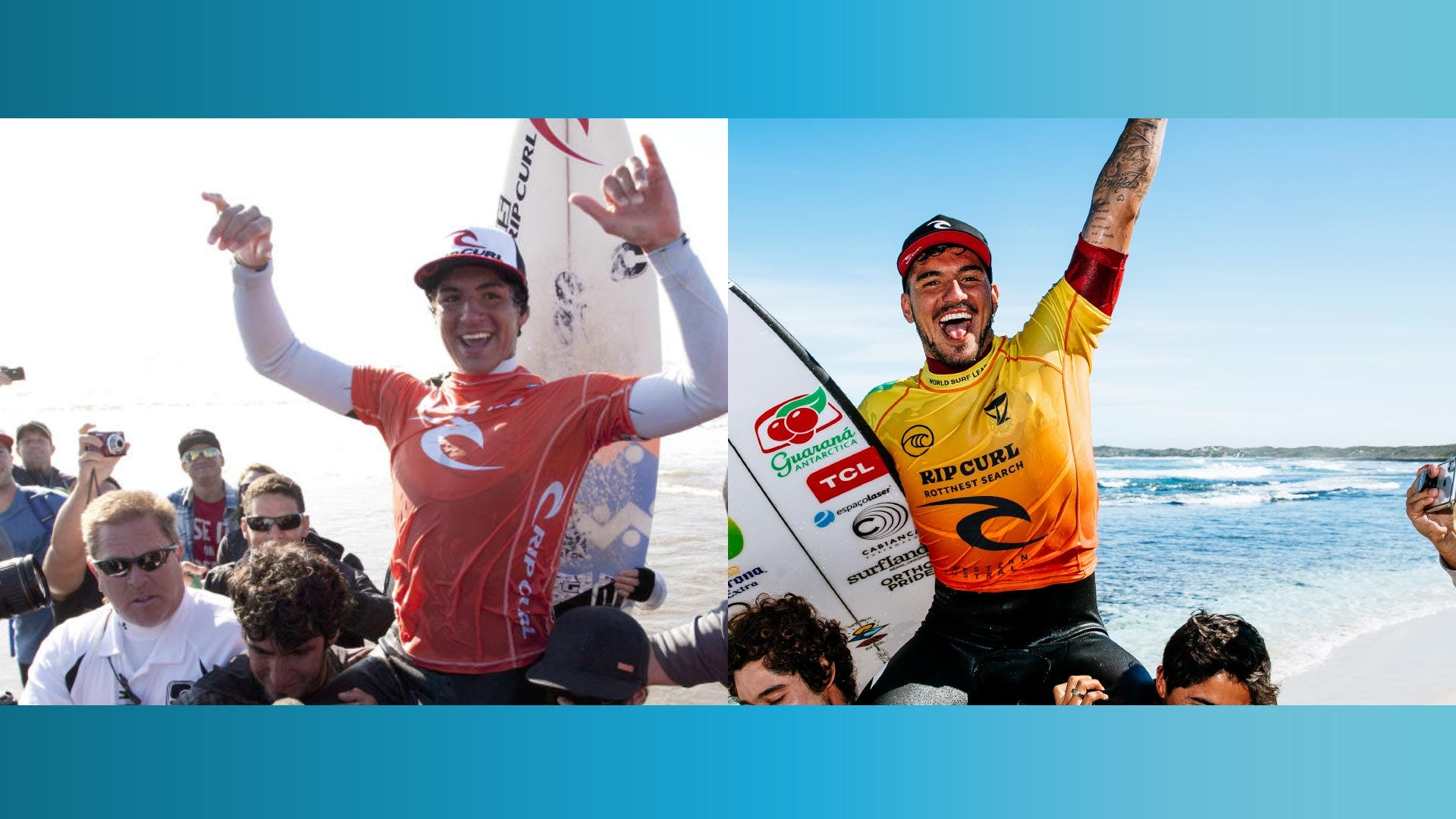 Gabriel Medina - Back to Back Rip Curl Search Wins in 2011 and 2021
