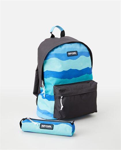 Surf Revival Dome 18L Backpack + Pencil Case