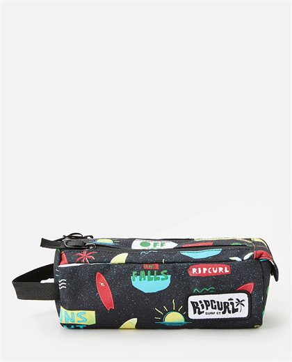 2 compartments Back To School Pencil Case
