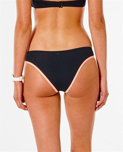 Twin Fin Solid Cheeky Bikini Pant