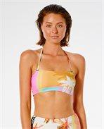 Twin Fin Bandeau Bikini Top