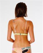Twin Fin Fixed Triangle Bikini Top