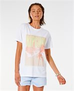 Twin Fin Oversize Poster Tee