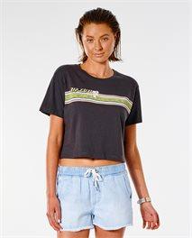 Camiseta Twin Fin Revival Crop
