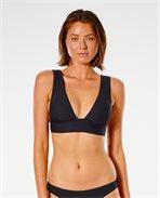 Premium Surf Deep V Halter Bikini Top