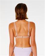 Premium Surf Banded Fixed Triangle Bikini Top