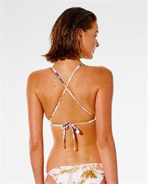 Parte de arriba de bikini de triángulo Sunset Drift X Back