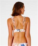 Sunset Drift Deep V Halter Bikini Top
