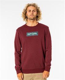 Surf Revival Box Crew Fleece