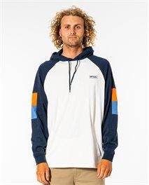 T-shirt manches longues à capuche Surf Revival
