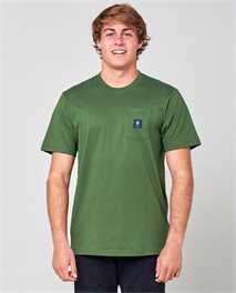 T-shirt manches courtes Searchers Stripe