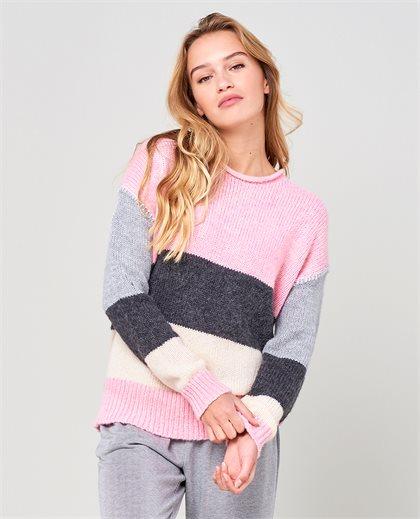 Anita Striped Sweater