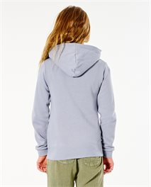 Sudadera con capucha Script para niña
