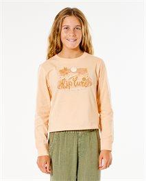 Camiseta de manga larga Surf Gypsy para niña