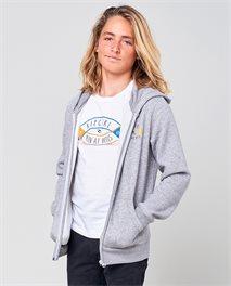 D'Ams Zip Hood Fleece Boy