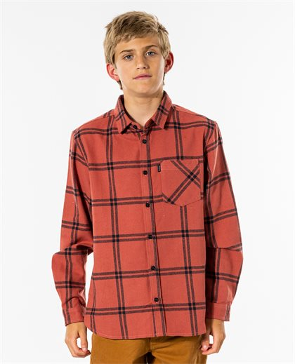 Checked Out Long Sleeve Flannel Boy
