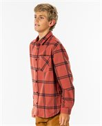 Camisa de flanela Checked Out para rapaz