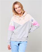 Zenika Colorblock Hoodie Fleece