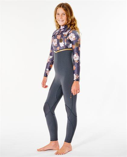 Junior Flashbomb 3/2 Chest Zip Wetsuit