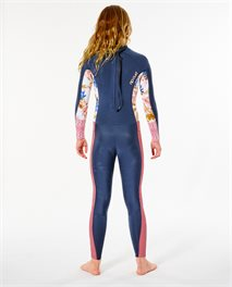 Junior Girl Dawn Patrol 4/3 Back Zip Wetsuit