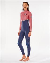 Women E Bomb 3/2 Zip Free Wetsuit
