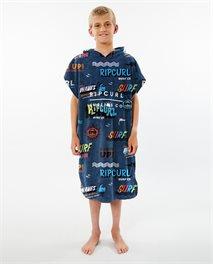 Toalha com capuz Print para rapaz